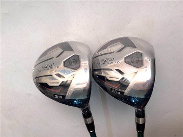 Golf Clubs Golf Fairway Wood Honma TW737 Fairway Woods #3/#5 R/S Flex VIZARD Graphite Shaft With Head Cover