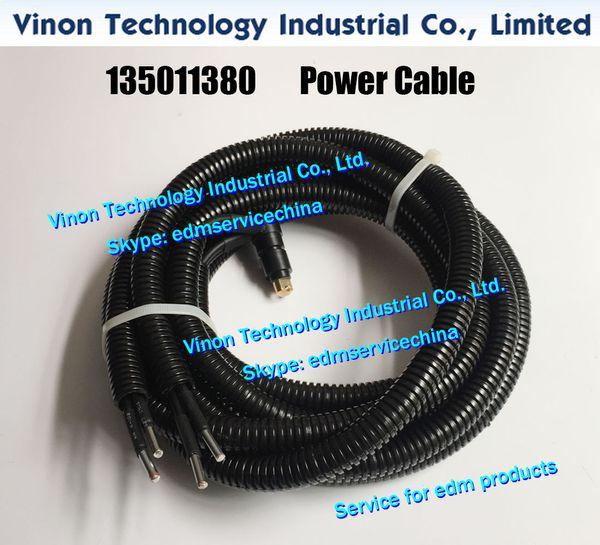 135011380 edm Power Supply Cable L=1400mm for Wire-cut EDM ROBOFIL 440SLP,440SL machines 24.54.143 Charmilles edm spare parts 135.011.380