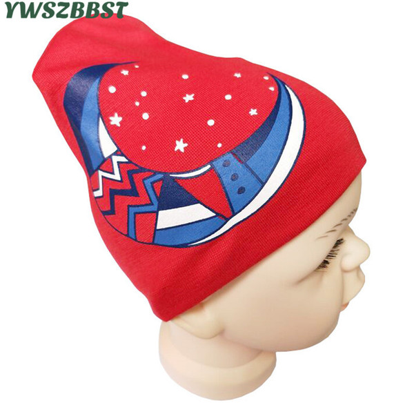 New Fashion Baby Hat with Moon Newborn Hat Kids for Baby Cap for Girls and Boys Cap Autumn Winter Child Beanies
