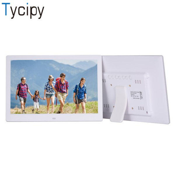 """Tycipy 13"""" Digital Photo Frame HD LED Camera Screen Electronic Photo Frame for Music Mp3 Video Mp4 Calendar with Remote Control"""