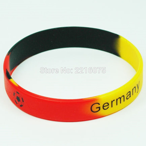 2019 Black Logo Flag World Cup Germany Wristband Silicone Bracelets By DHL  Express From W245, $239 95 | DHgate Com
