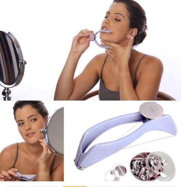 Spring Face Facial Body Hair Remover Threading Depiladora DIY Beauty Nice Tool Depiladora Segura Reliable Ventas Al Por Mayor DHL