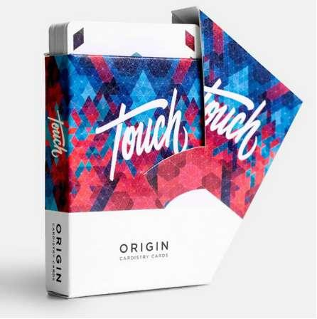New Origin Cardistry Touch Playing Cards Ellusionist Playing Cards Original Poker Cards for Magician Collection Card Game