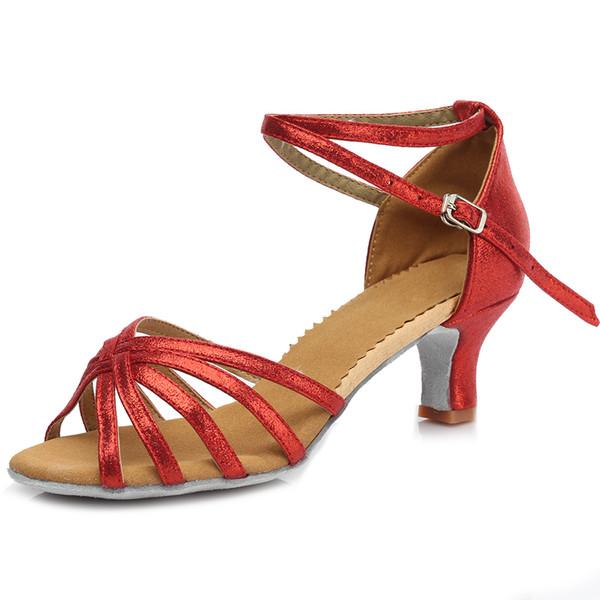 Adult Latin Tango Dance shoes Ballroom Dancing Shoes For Women 5CM Heeled Ladies Professional Dance Shoes