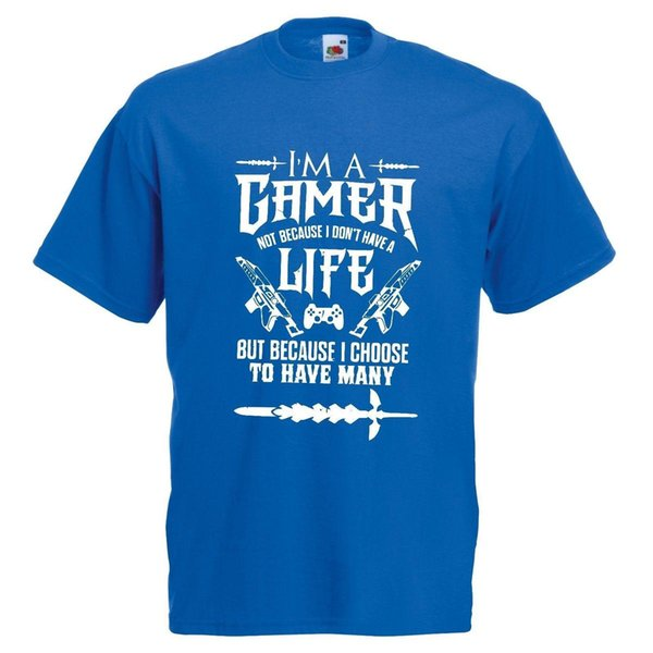 Gamer For Life T-shirt Kind of Lifestyle Video Game PC XBox PS4 COD CSGO Overwat