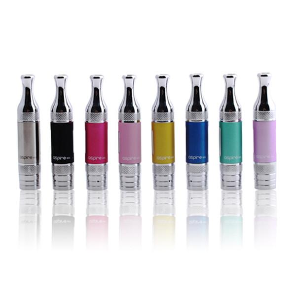 Wholesale -100% genuine Aspire ET S glass BVC clearomizer Bottom Vertical Coil Aspire 1.8ohm BVC ETS glass Atomizer Tanks