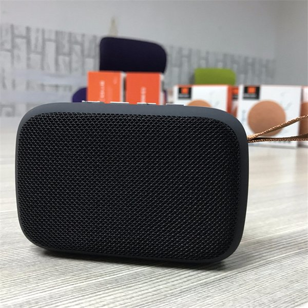 CHARGE G2 Mini Speaker Portable Fabric Wireless Bluetooth Speaker Support USB TF Card Subwoofer With Retail Box Factory direct sales