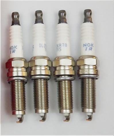 6 HONDA OEM 12290-r48-h01 IRIDIUM Spark Plug NGK 5787 ILZKR7B11S