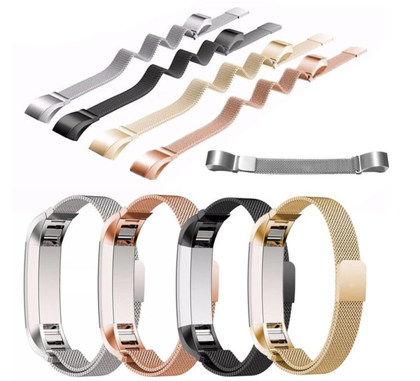 New color for fitbit alta magnetic milane e loop metal bracelet band watch band tainle teel wri t trap bracelet acce orie pk charge 2