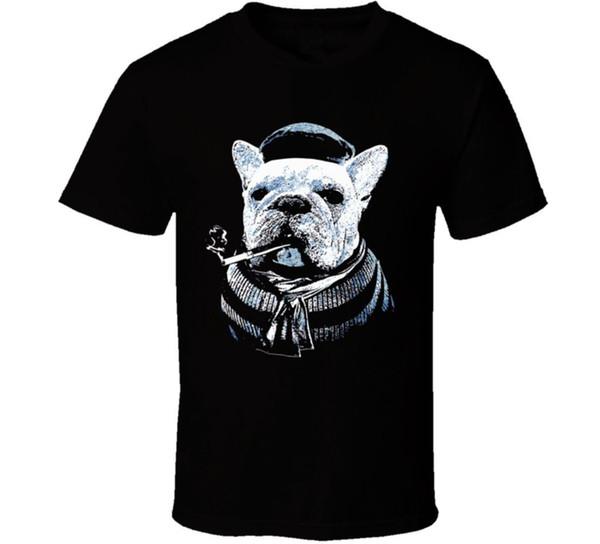 Camiseta del perro de la camiseta del dogo francés discout nueva camiseta caliente de la manera envío libre superior 2018 officia