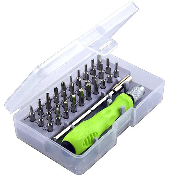 Nuevo 32 en 1 destornillador magnético Bit Set Precision Mini Kit de herramientas de mano Teléfono móvil Teléfono móvil iPad Reparación de reparación de la cámara