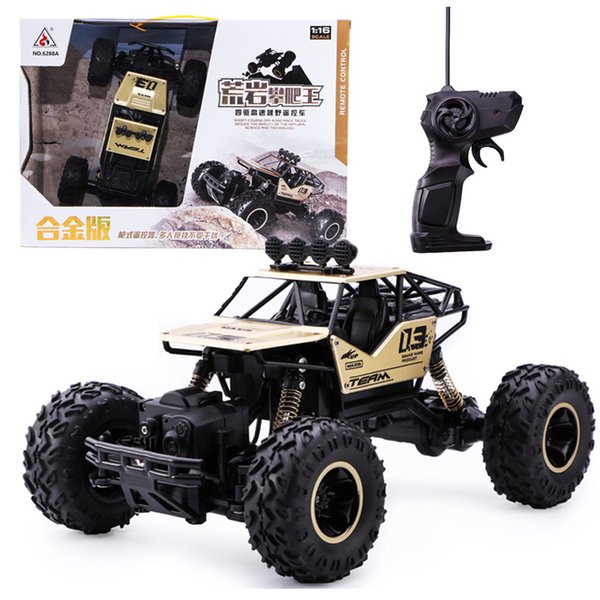 Christmas children's toy alloy 4WD remote control vehicle model wireless climbing car charging car 1:16