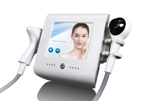 2 en 1 corps formant la peau serrant le refroidissement à vide focalisé rf thermolift pour l'équipement de beauté de levage de visage DHL Fedex