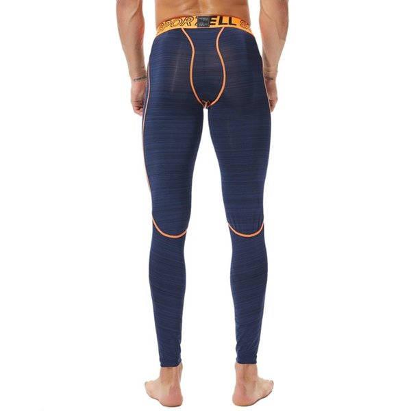 Men Compression Pants Running Tights Gym Sports Mens Leggings Fitness Workout Leggins Tight Trousers Male Training Sportswear