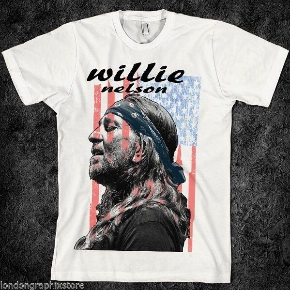 Country-Musik, Willie Nelson T-Shirt, Band, Konzert, alle Mädchen, Gitarre Tanz Tee