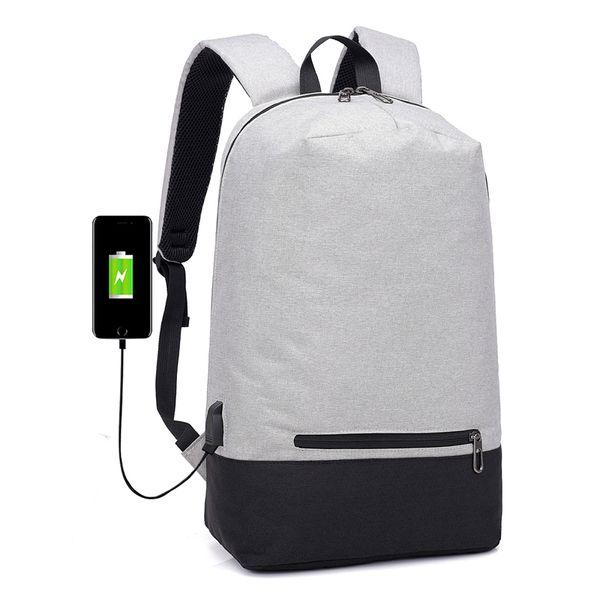 2018 New Arrival USB Design Backpack Book Bags School Backpack Casual Rucksack Daypack Waterproof Laptop Fashion Man Backpacks