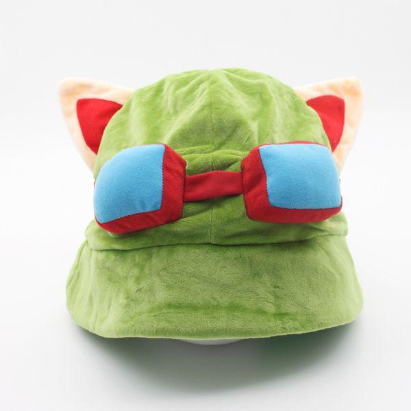 Wholesale - Hot game League of Legends cosplay cap Hat Teemo hat Plush+ Cotton LOL plush toys Hats