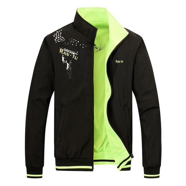 Double Side Wear  Men Bomber Jacket Windbreaker Sportswear Waterproof Outwear cool Mens jackets and coats raincoat male 5xl