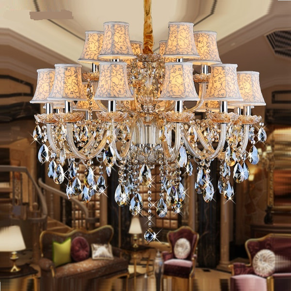 Großhandel Kristallleuchter Licht Für Schlafzimmer Wohnzimmer Kristall  Leuchte Kerze Kronleuchter Licht Luxus Kristall Beleuchtung Modern Von  Yzjl, ...