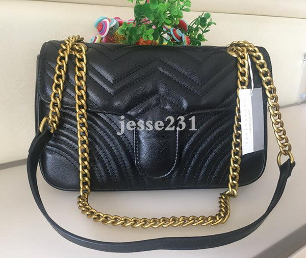 Top Quality 5colors Famous brand women designer Shoulder bag leather chain bag Cross body Pure color womens handbag crossbody bag purse