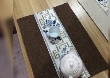 30 x 40cm linen white bottom