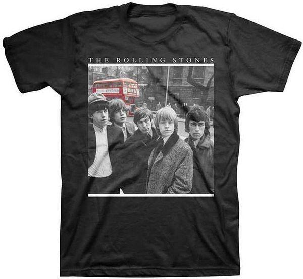 Rolling Stones Bus Photo T-Shirt SM, MD, LG, XL, XXL New XXXL Fashion Mens Short Sleeve T shirt Cotton T Shirts