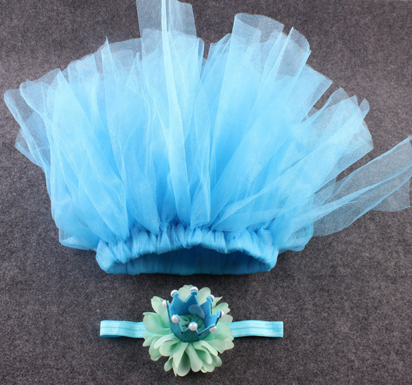 tiaras infantil newborn photography accessories Baby Girls Boys tutu Dress Costume Photo Photography Prop Outfits PINK