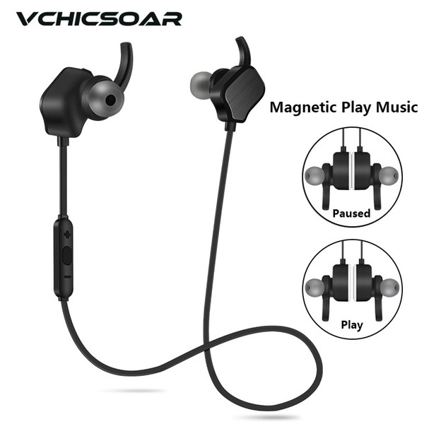 Vchicsoar V3 Bluetooth Earphone with Mic Sport Wireless Headphones V4.1 Stereo Running Noise Reduction Headset for iPhone xiaomi