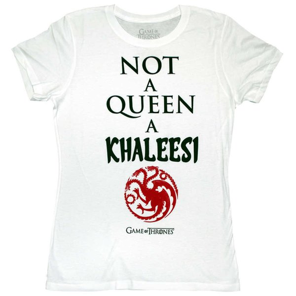 2018 New Brand T Shirt Men Ladies Game Of Thrones Khaleesi T Shirt Mother Dragons Nights Watch White Walker Man T Shirt Round Co