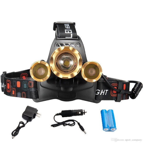 Headlamp with Battery Charger