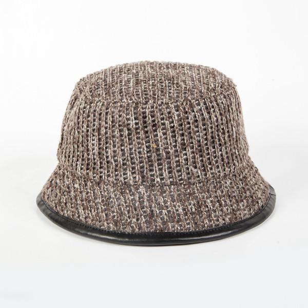 2018 Hot Sale Outdoor Bucket Hats For Women Men Panama Bucket Cap Women Fishing Hat Knitting Cap