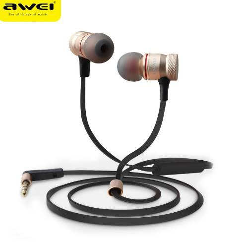 BIJELA ES-70TY Earphone 3.5mm headset Stereo Music Deep Bass Inear Earphone with Stainless Steel Sound 1.2m Cable for phone zk40
