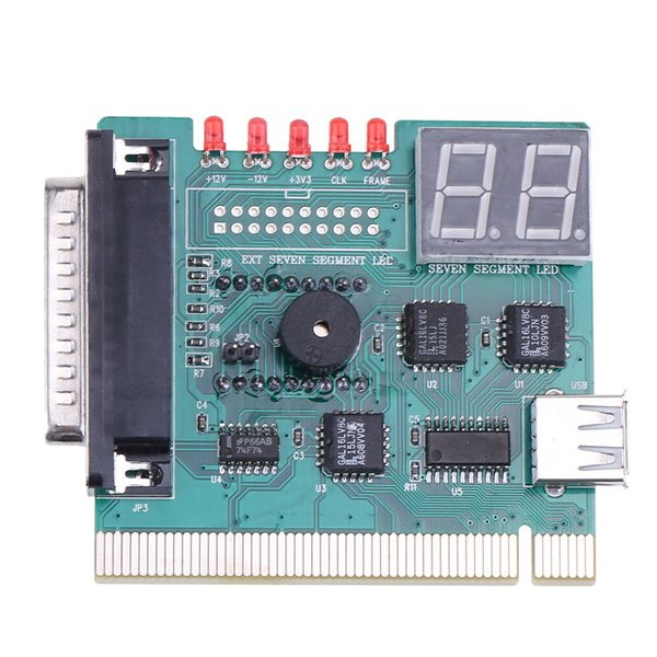 high quality 1pc USB PCI PC Motherboard Diagnostic Analyzer POST Card with USB Connecting Cable for Notebook PC