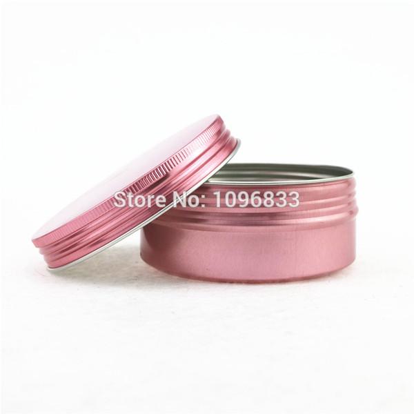 Pink Color Aluminum Jar 150g 150ml Aluminium Pot, Empty Packing Tins, Metal Essential Oil Jar, Pink Cans Aluminum Box, 30pcs/lot