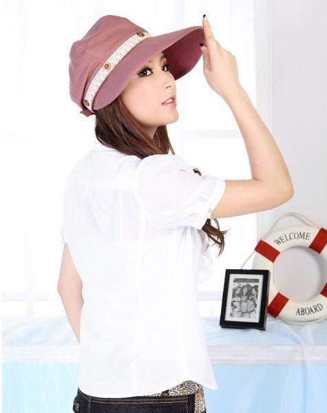 New Hot Korean Version Summer Beach Hats For Woman Outer Women Sun Hat Straw Caps Wholesale