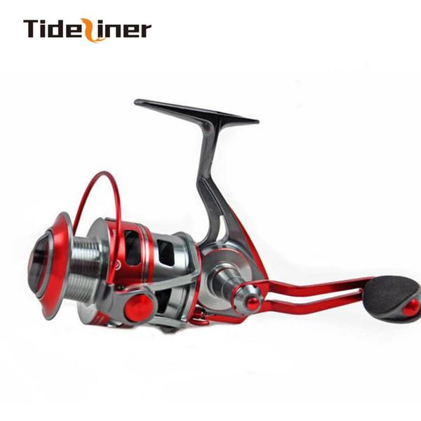 Ruota pre-caricamento Spinning Fishing Reel 5.5 1 Rapporto di trasmissione