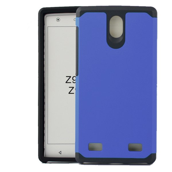Hybrid Dual Layer Armor Cases For ZTE Blade Z MAX Z982 Sequoia Grand X max 2 Protective Shockproof Cover Heavy Duty Slim Shell Protection