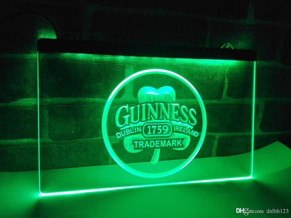 LE111g- Guinness Beer Dublin Ireland Bar LED Neon Light Sign