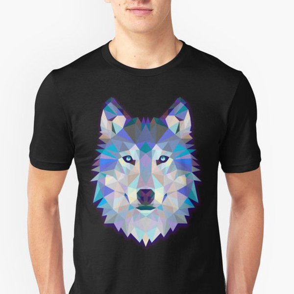 Wolf Animals Gift T-Shirts, Wolf Lovers Shirt for Cool Boys and Cool Girls Shirt Ment Shirt Summer Style