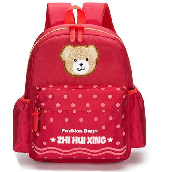 Cute Bear Toddler Animal Backpack Infant Schoolbags Small Mini Kindergarten Anime Children Baby Girls Boys School Backpacks