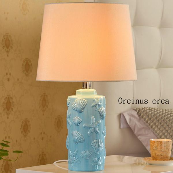 American garden birdie clock table lamp bedroom bedside lamp modern simple warm creative decorative table free shipping
