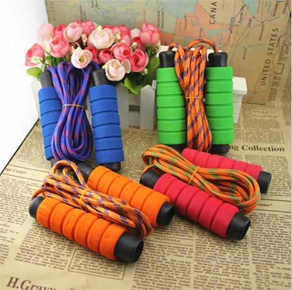 2.1M Adult Children Sponge Soft Handle Speed Skipping Rope Boxing Exercise Jumping Rope Exercise Fitness Supplies