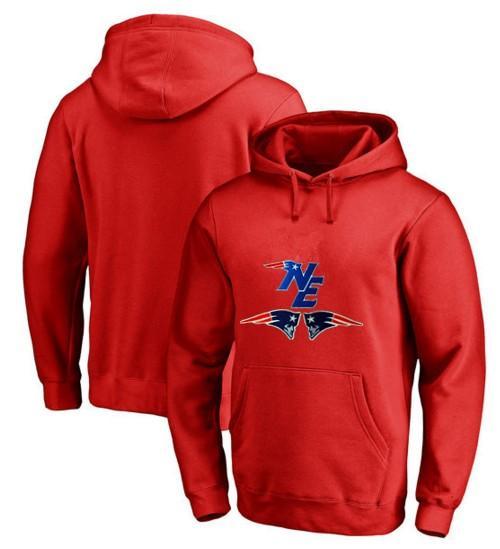 Men's Winter Patriots Fans Hoodies, New Design New England Sweatshirts NE Logo Picture Printing Fashion Tops O-neck Pullover