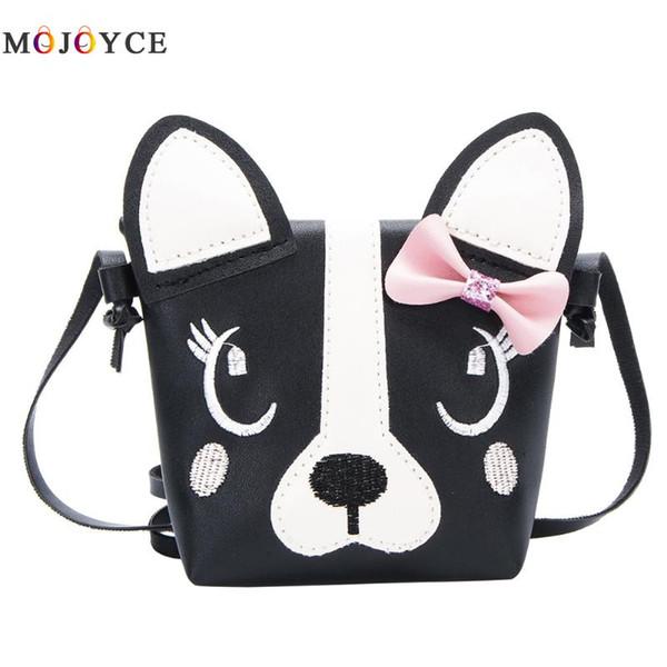 Children Handbag For Girl Dog Shoulder Bag Kids Purse PU Leather Boy Messenger Bag Child Crossbody Wallet