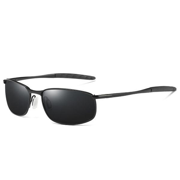 Mens Driving Outdoors Lunettes Lunettes de soleil classiques Polarisées Protection UV de 100%