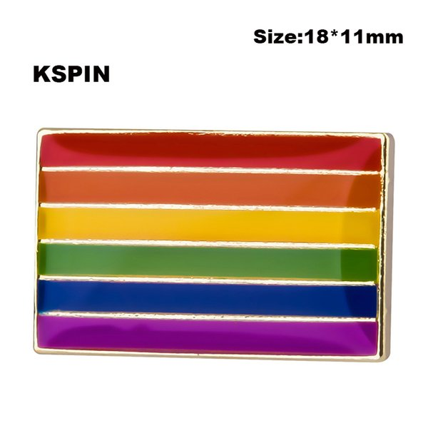 2019 Gay Pride Rainbow Flag Shape Badges For Backpacks Pin Brooch Set  Decorative Buttons For Clothes From Susansusanchen, $6 03 | DHgate Com