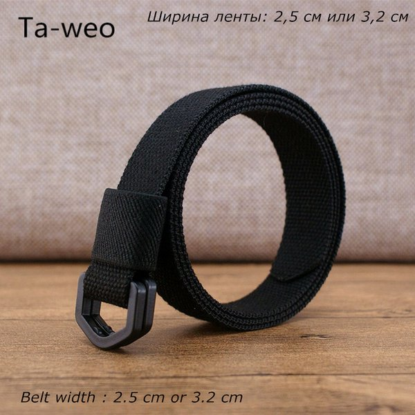 Ta-weo Aviation Cinturón estrecho no metálico, Cinturones de lona unisex de moda, Cinturón Femininos de punto para hombres Cinturón de buena calidad, Cinturones para mujeres