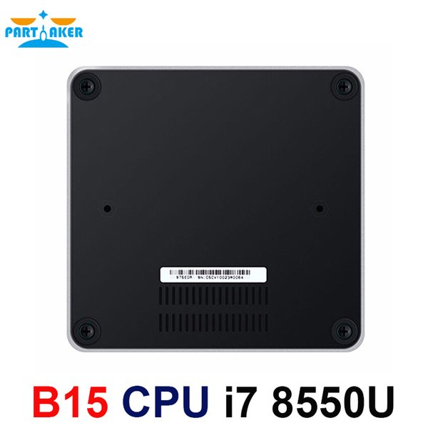 Kaby See Mini PC Intel I7 8550U HDMI DP Anzeige 2.4G / 5G Wifi B / G / N / AC + Bluetooth