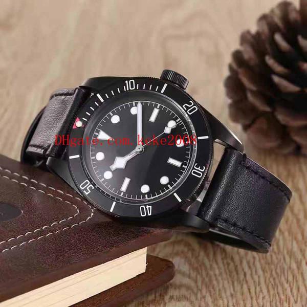 2 di alta qualità di lusso orologio 79250BM 79520BM RARE 41mm cinturino in pelle lunetta cinturino cinturino in movimento Asia orologio automatico da uomo orologi