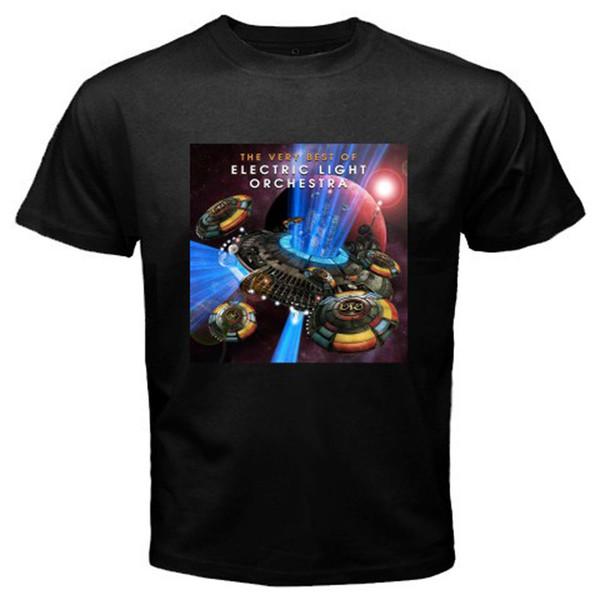 Лето 2018 Новый Эло электрический свет оркестр рок-легенда * TheBest мужская черная футболка размер S-3XL хип-хоп повседневная одежда